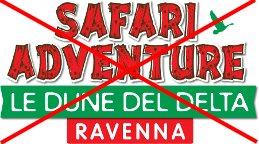 """Le promozioni con logo """"Safari Adventure"""" e """"Le Dune del Delta"""" non sono più attive"""